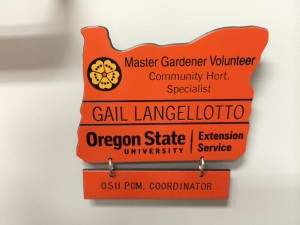 Oregon State University Extension Master Gardener Badge