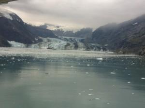 Cruising Glacier Bay during the 2017 IMGC cruise to Alaska.