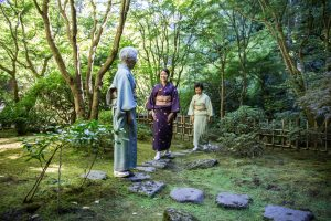 Tea ceremony at the Portland Japanese Garden.