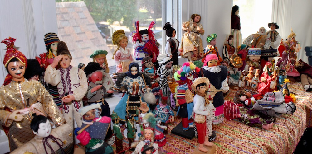 Dolls at the CMLC