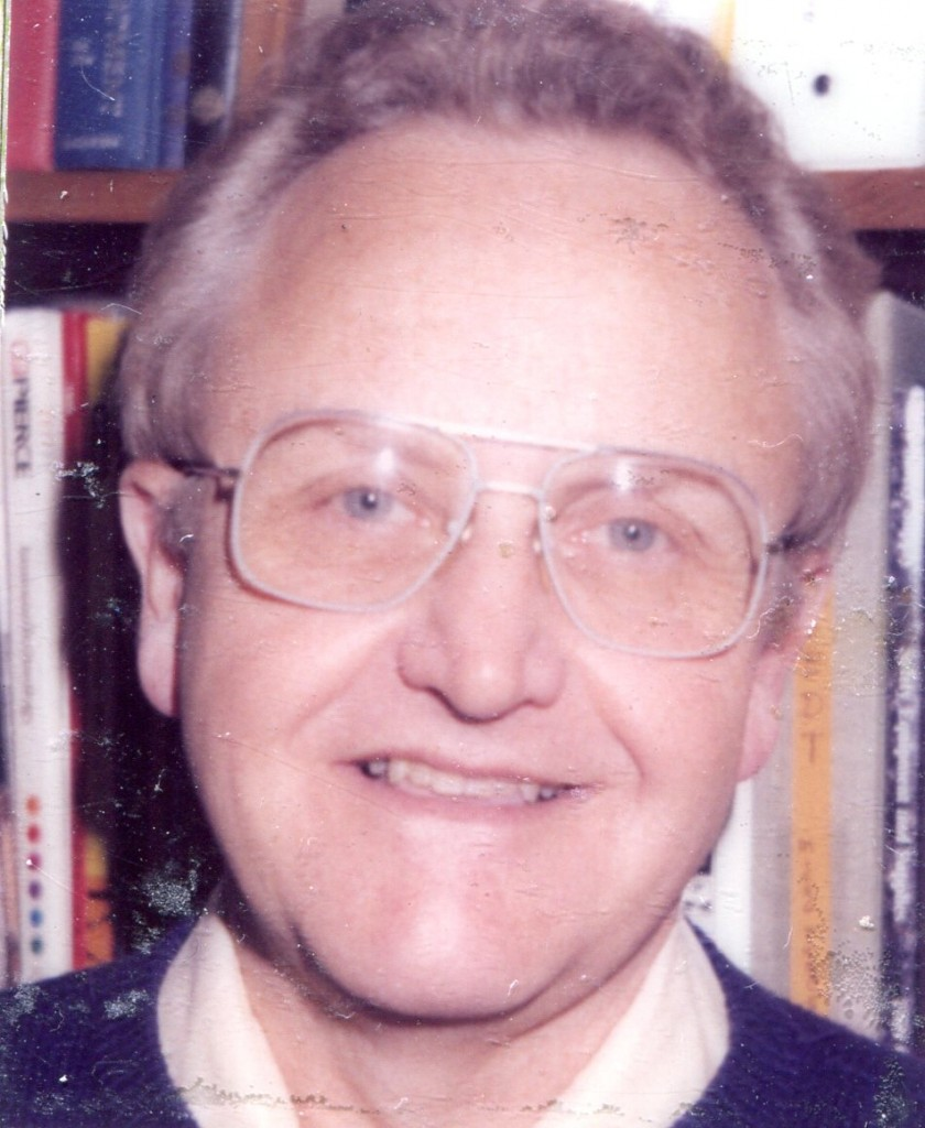 Bob Randall ca 1990s; retired as Chemist in 1995 then again in 2008 as Administrative/Records Assistant