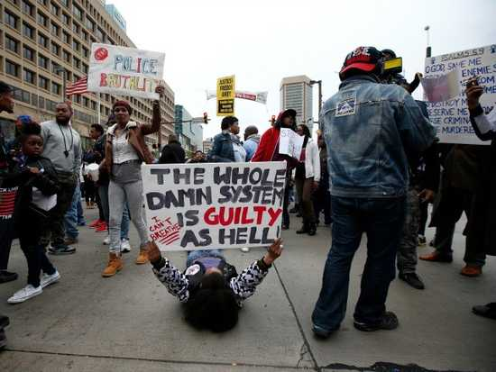 Black activists in Baltimore commenting on police brutality and our Law Enforcement system.
