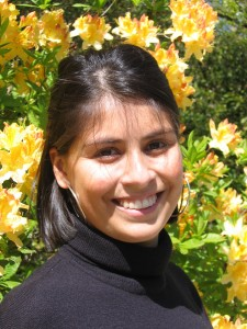 First generation college graduate Lupe Diaz starts a master's program this fall.