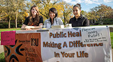 Public Health Club encourages donations to Hurricane Sandy relief