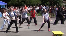 Video: Nutrition flash mob