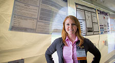 Alyssa Hersh is Undergraduate Researcher of the Year