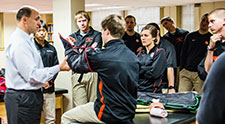 Mark Hoffman named NATA Most Distinguished Athletic Trainer