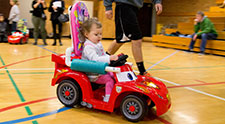 Video: Children with disabilities gain new freedom with modified cars