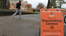 Smoke-free campus policy enjoys wide support, new OSU research shows