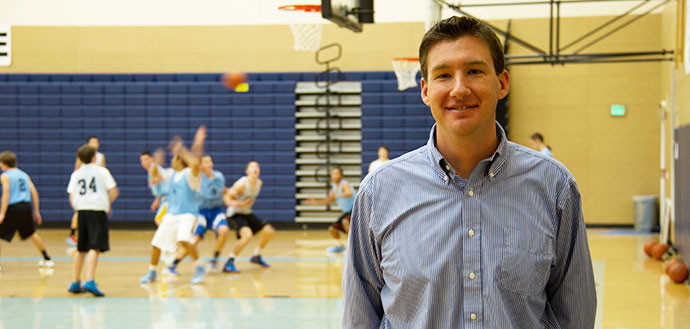 CPHHS Assistant Professor Marc Norcross (pictured above) studies injury prevention programs in high school athletes.