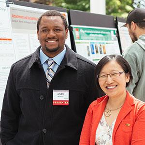 URAP EXSS student Jason Walker and Assistant Professor Siew Sun Wong.