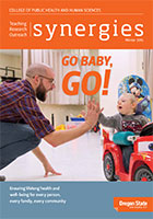Synergies 2015 print cover