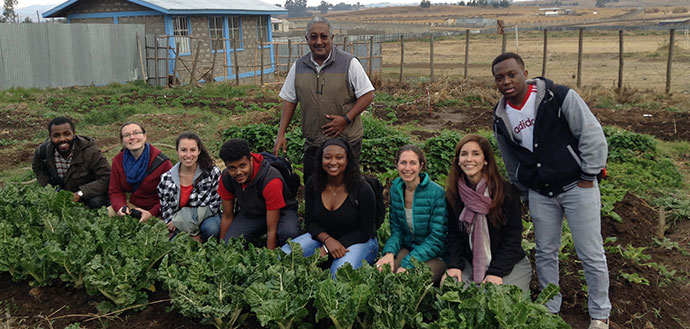 Ethiopia in garden group