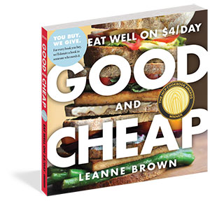 Good and Cheap book