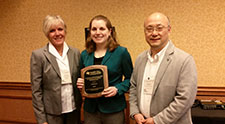 PhD student Jill Pawlowski honored for her commitment to adapted physical activity