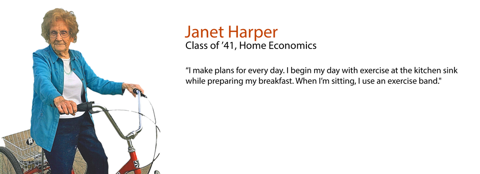 The fitness diaries: Janet Chase Harper