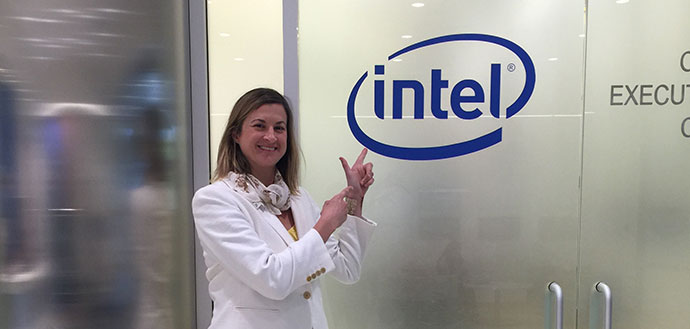 Katie at Intel