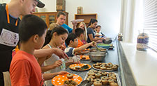 Nutrition education and simple cafeteria changes leads to healthier eating