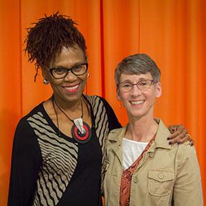 Joyce and Sarah