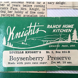 Lucille Knight Jam Label