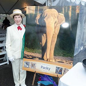 Pat at Packy Memorial