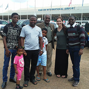 Arriving in Malawai