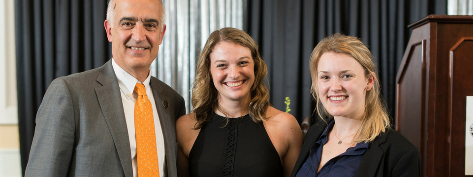 College supporters recognized for their community impact