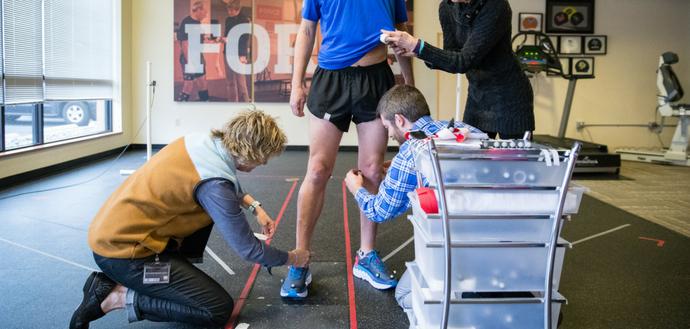 Maximal running shoe study
