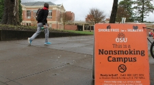 Working toward a smoke-free campus