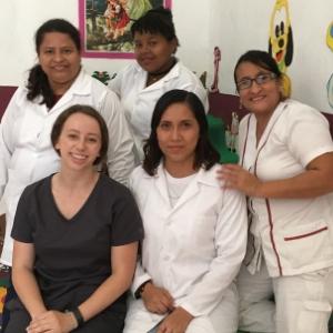 Pre-med student completes internship in Ecuador