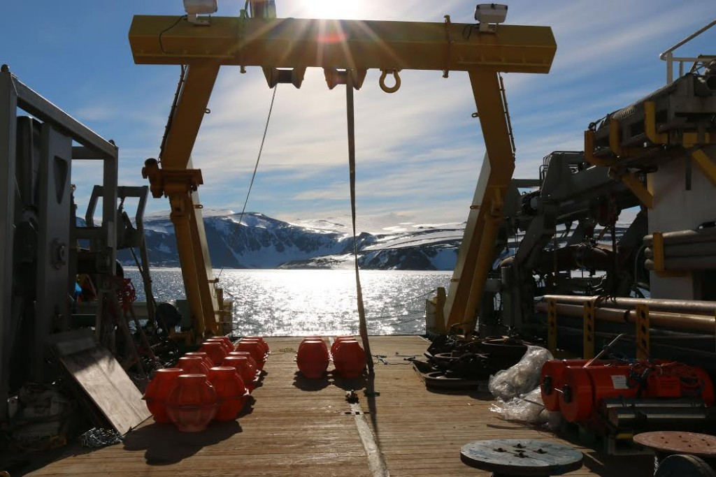 Antarctica OBS pick up michelle fournet