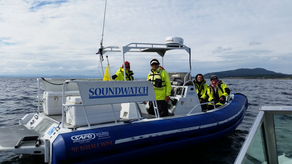 Soundwatch boat and crew