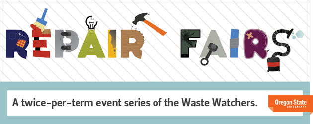 Check out the Repair Fairs, and stay tuned for upcoming events!