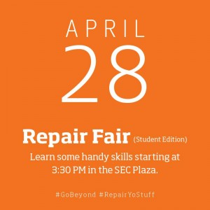 April Repair Fair