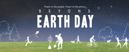 Beyond Earth Day graphic