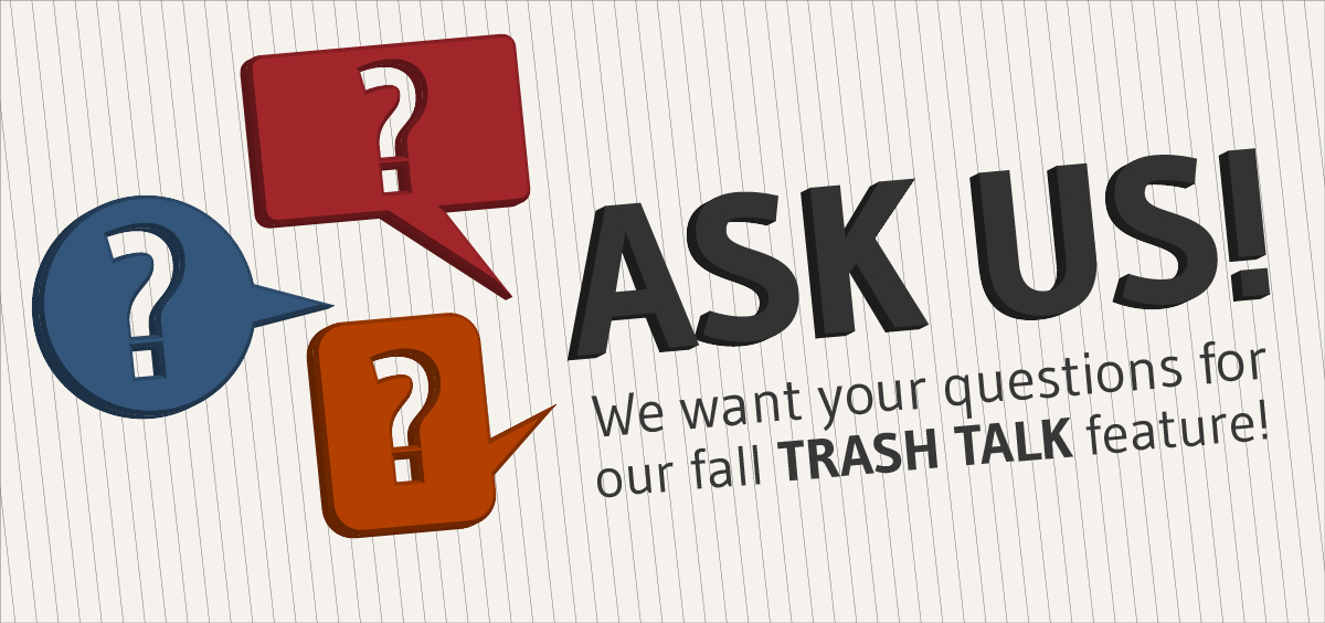 Click to submit your questions about recycling