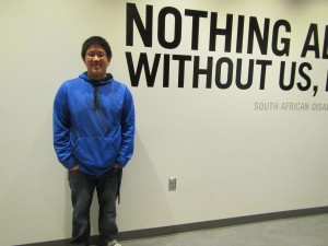 Justin Tran Sustainable Student Spotlight