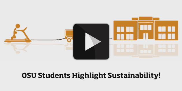 Check out how Oregon State University students highlighted sustainability on campus for their senior capstone project!