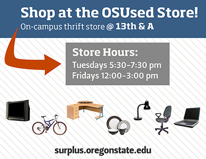 Shop at the OSUsed Store