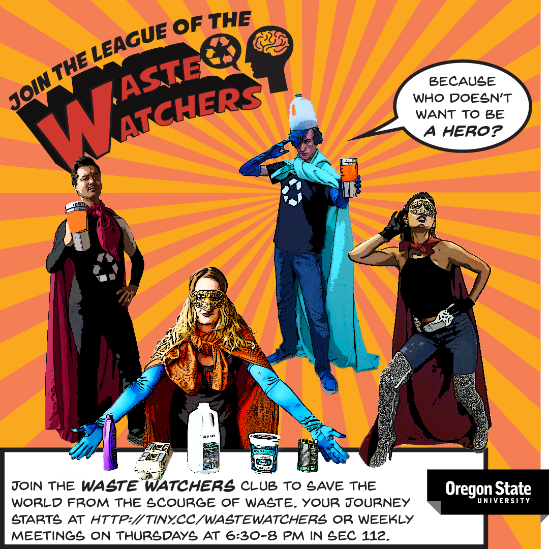 Join the Waste Watchers club to save the world from the scourge of waste.