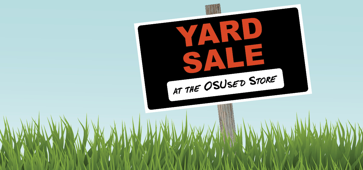 Illustration of a yard sign