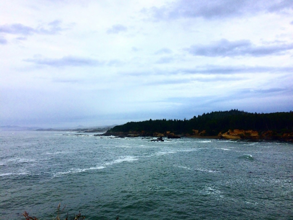 The Oregon Coast. Photo by Olivia Hamilton.