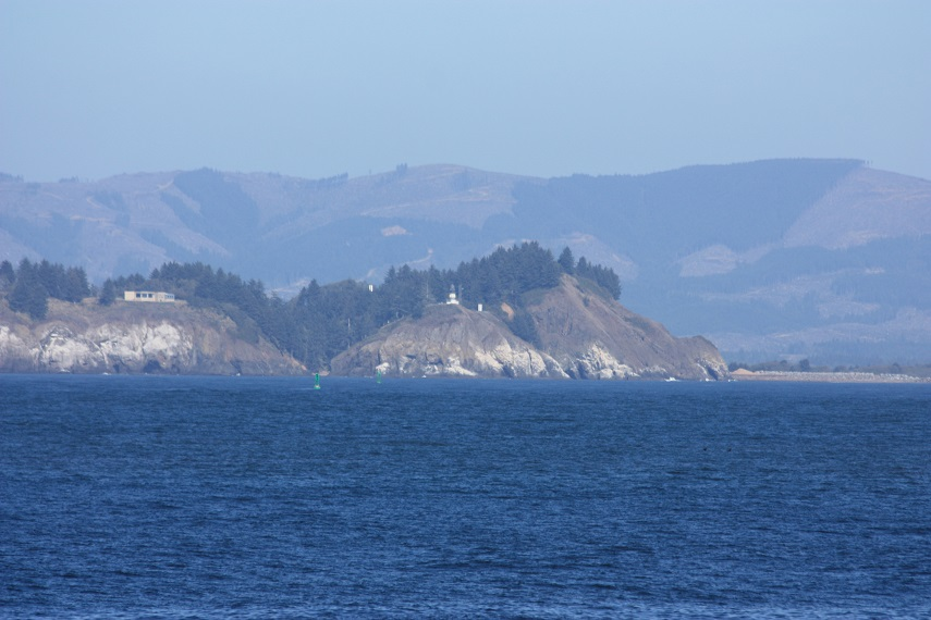 Cape Disappointment Lighthouse at the Columbia River Bar.