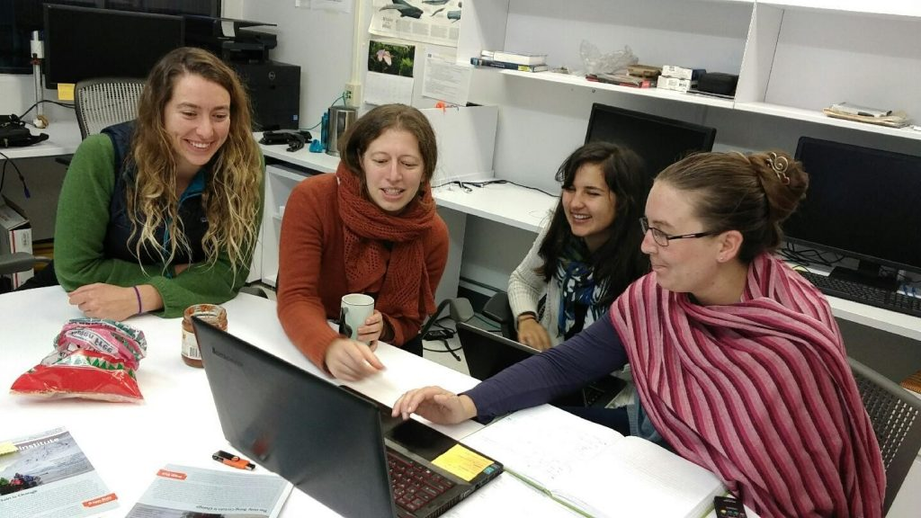 No heat in the lab can't stop us from solving a coding problem together on a wintery evening!