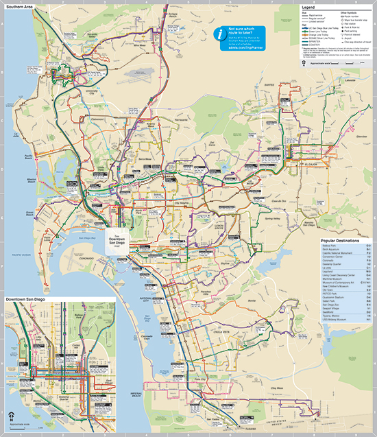 Toyota Entune Update >> San Diego Transit Map | aeropilatesleon