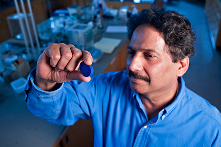 Chemist awarded Perkin medal for novel blue pigment discovery