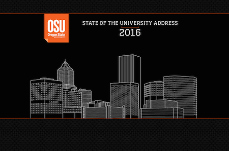 State of the University 2016