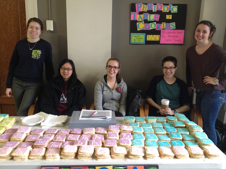 It's that time: Periodic table cookie sale