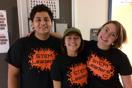 New, transfer students flourish in STEM leadership program