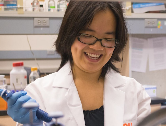 Biochemistry student wins Tunison Scholarship